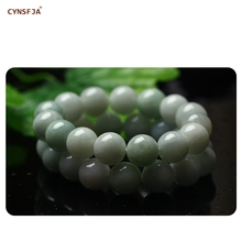 CYNSFJA Real Certified Natural Grade A Burmese  Jadeite Charms Amulets Jade Bracelet Bangle High Quality Fine Jewelry Best Gifts цена и фото