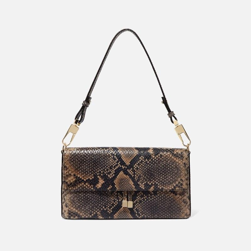 Women Crocodile Bag Bolsas Luxury Designer Handbags Ladies Pu Leather Handbags Stone Messenger Purse Retro Baguette Tote Bags