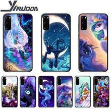 Motirunner My Little Pony Luna cassa del telefono coque per Samsung galaxy S 7 8 9 10 20 Più di 20 Ultra note8 9 10 custodie in silicone coque(China)
