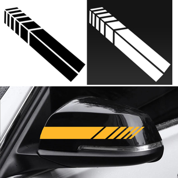 Funny Sticker 2 pc Reflective Car Stickers for Volvo S40 S60 S80 XC60 XC90 V40 V60 C30 XC70 V70/Land Rover Range Rover/Evoque/ image