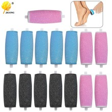 5pcs/Lot Replacement Roller Heads For Velvet Smooth Electric Foot File Pedicure