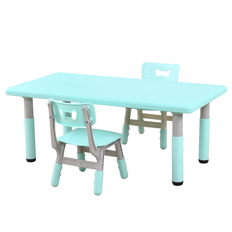 M8 Kindergarten Table And Chair Set Children's Multi-function Lifting Table Baby Learning Toys Plastic Table Game Table Chairs