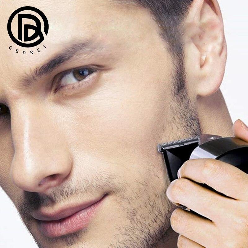 GEDRET Multifunctional Kit Electric Shaver Wet Dry For Men Electric Razor Rechargeable Bald Head Shaving Machine Beard Trimmer