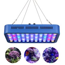 165W Aquarium Light AC100-240V LED Lamp Color Red,Blue, Ideal For All Kinds Of Water Grass, Coral,Fish At Growth Stages