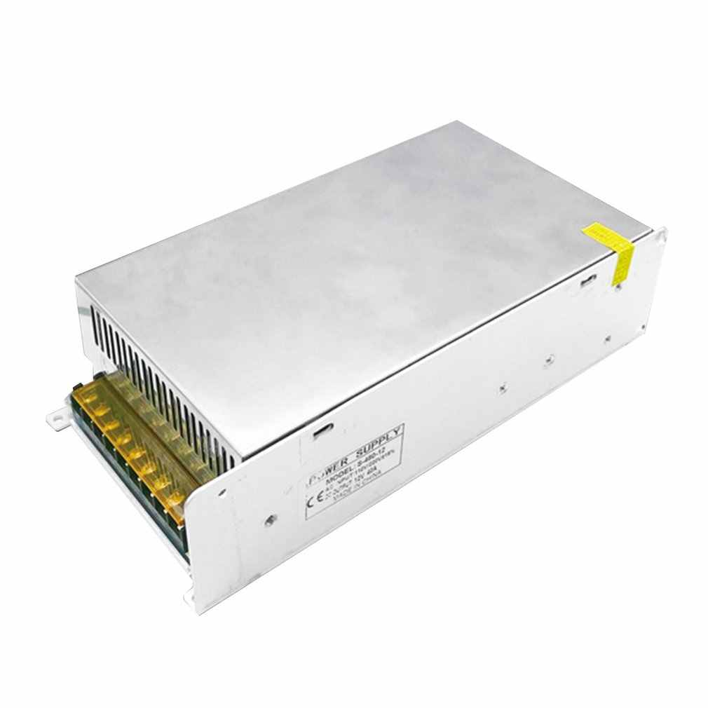 Dc12в 50А 600 Вт светильник ing трансформаторы светодиодный адаптер питания для светодиодных лент светильник переключатель источник питания светодиодный драйвер