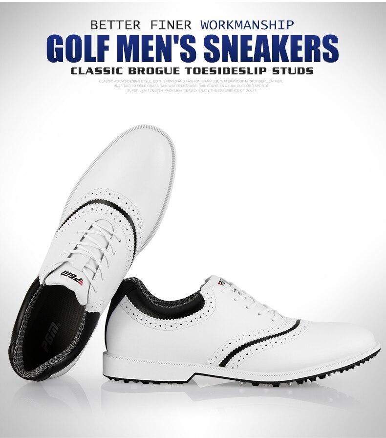 Новинка 2020 года; Мужская нескользящая обувь из водонепроницаемого материала; мягкая микрофибра; кожа; дышащие; нескользящие; белые туфли с ш... - 4