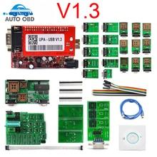 Лучшее качество UPA Usb программатор диагностический инструмент UPA-USB ECU Программатор UPA USB V1.3 с полным адаптером