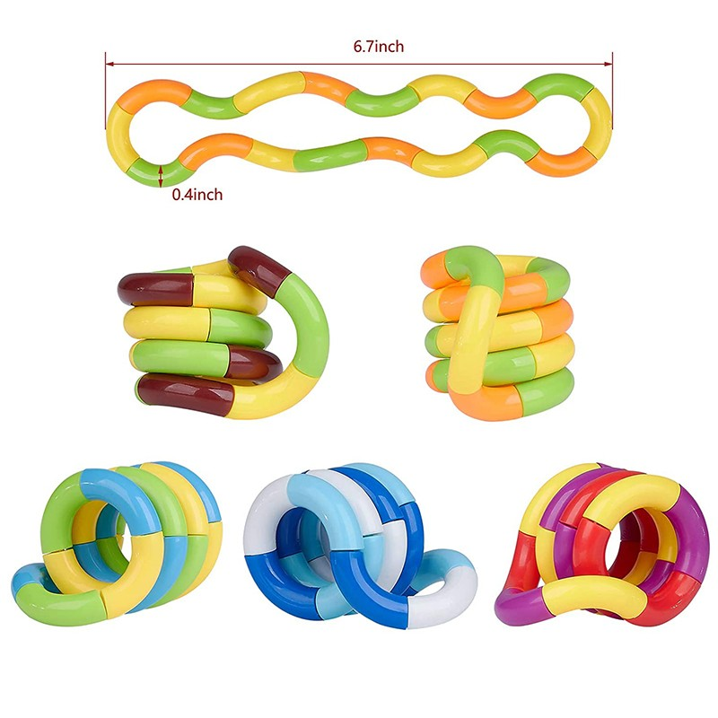 Toy Stress Fidget Decompression-Toy Play-Toys Adult New Child Twist for Kids Perfect img2