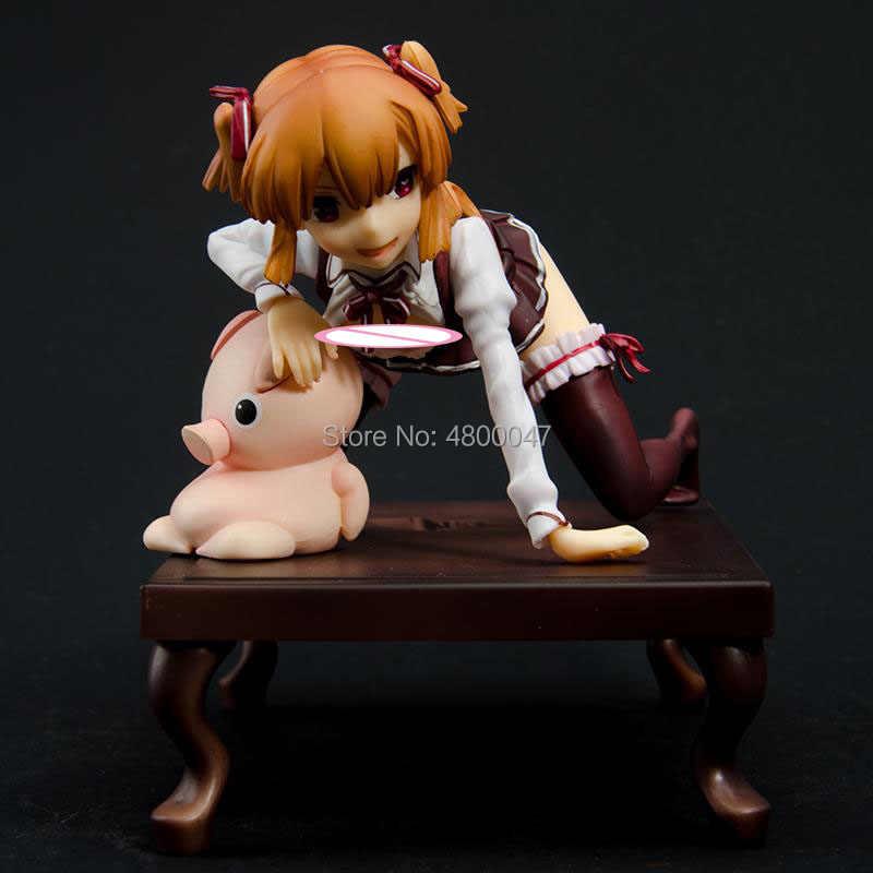 Nativo munetoku lchimanda tokuno senzaki Sexy girls brinquedos Figura de Ação Anime japonês PVC Figuras de Ação adulto Anime Toy figuras