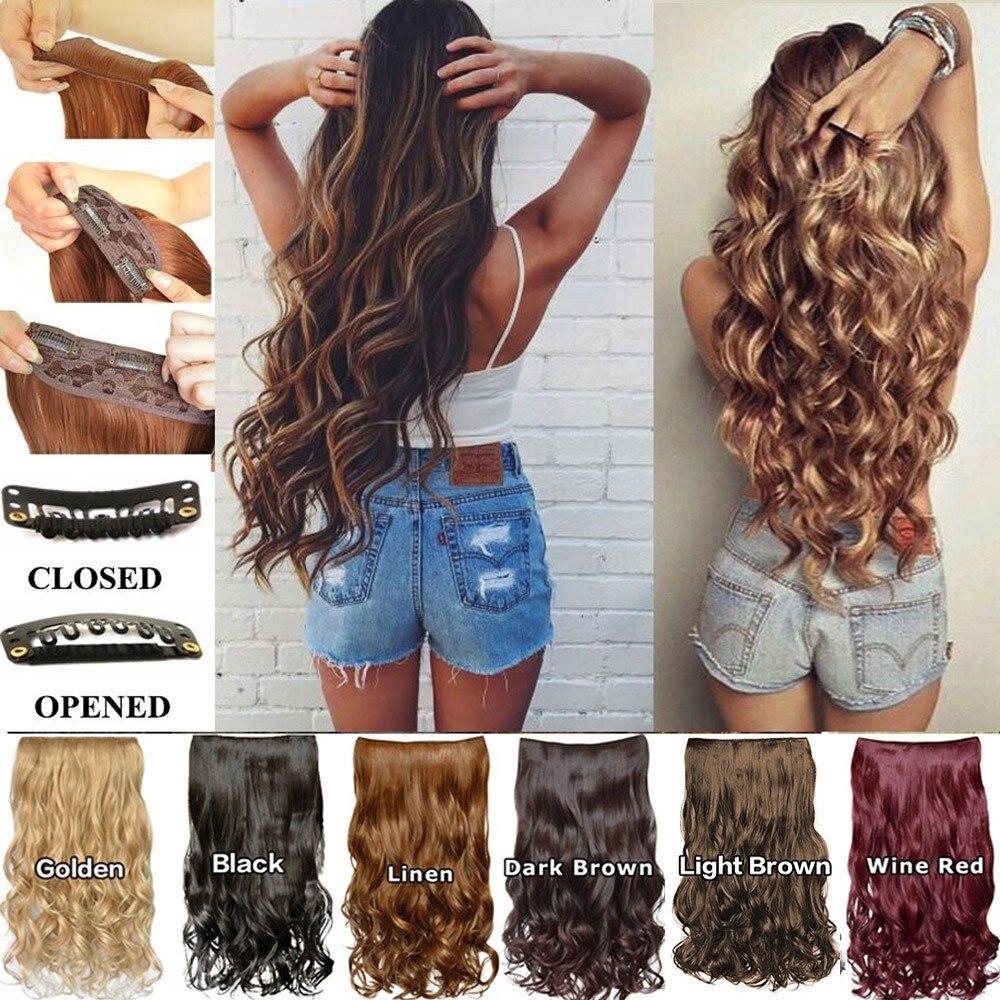 1 шт. 5 заколок для наращивания волос секретный Невидимый кудрявый женский парик для девочек кудрявые волосы для Омбре кудрявые волосы синте...