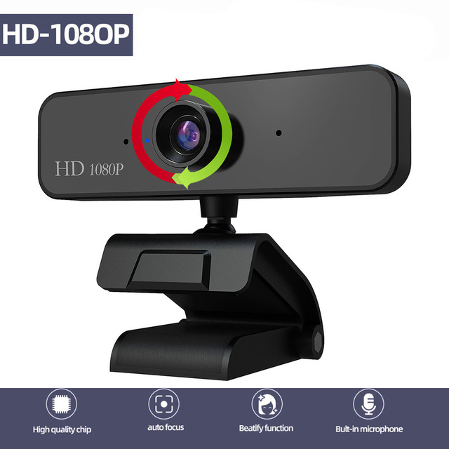 1080P Webcam Autofocus Web Camera 5 MP support 720P 1080 Video Call Computer Peripheral Camera HD Webcams Desktop PC