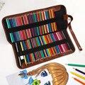JIANWU 72 Löcher Faltbare Leinwand Stift Vorhang Farbe Bleistift Leinwand Farbige Bleistift Lagerung Werkzeuge Kunst Liefert Nicht Enthalten Bleistift