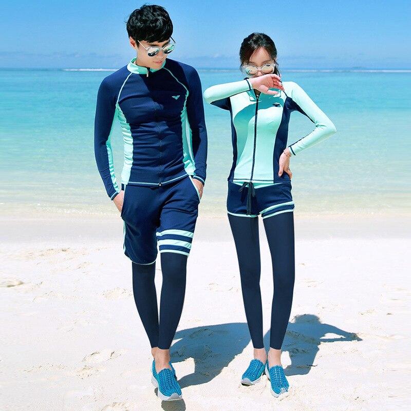 Combinaison de plongée femme extérieur ski nautique Type fendu à manches longues combinaison chaude résistant au soleil maillot de bain plongée en apnée Muta