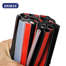 Pegatinas grandes d pequeñas D y 9 tipo z, accesorios para burlete, tira de sellado impermeable, accesorios para coche
