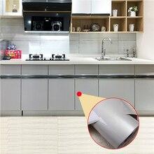 Waterproof Self Adhesive Kitchen Wallpaper Rolls Furniture Renovation Wall PapersHome Decor