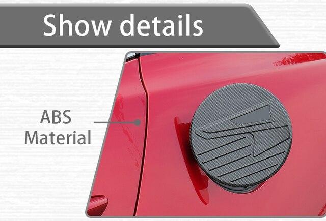 Abs автомобильный Стайлинг Авто Крышка топливного бака наклейка