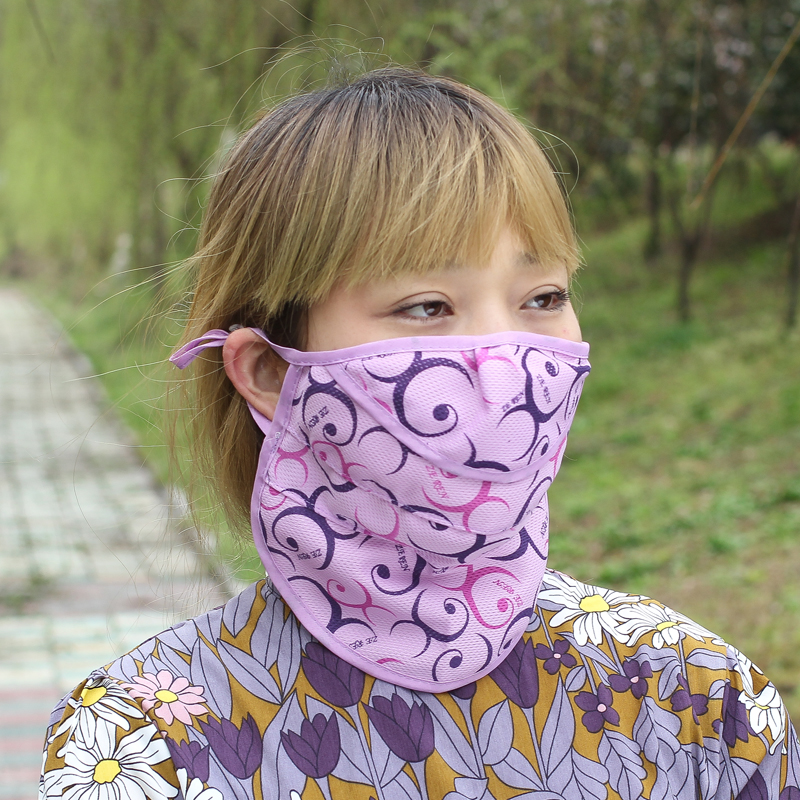 New Breathable Mesh Anti-UV Large Mask Super Breathable Sun Protection Neck Dust Mask