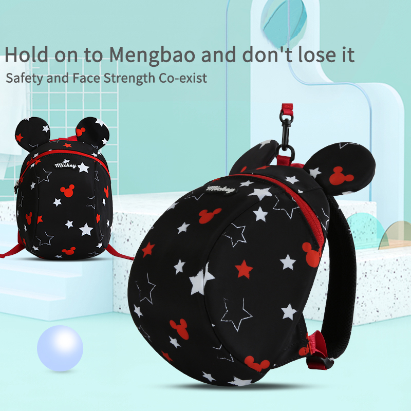 2019 Disney Children's Anti-lost Backpack Child's Belt Arnes De Seguridad Para Bebe 1.2 M Walking Backpack With Children's Belt