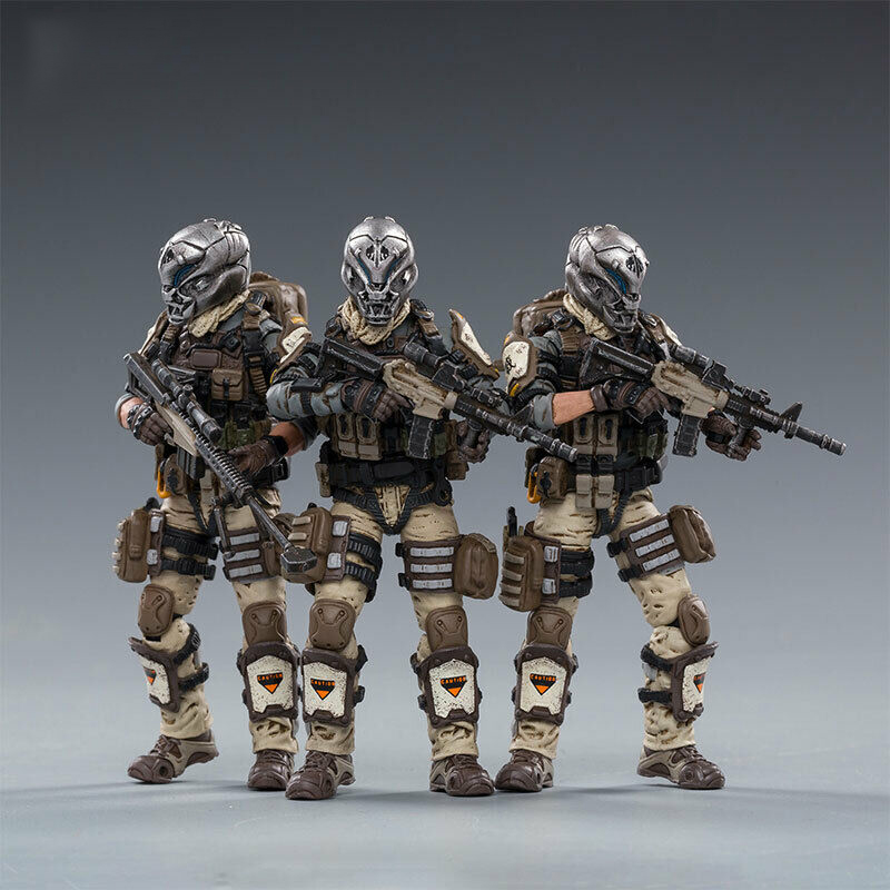 JOYTOY 82011071 1/18 Desert Skull Field In Stock Collectible Squad Action Figure Model Toy for Fans Holiday Gifts