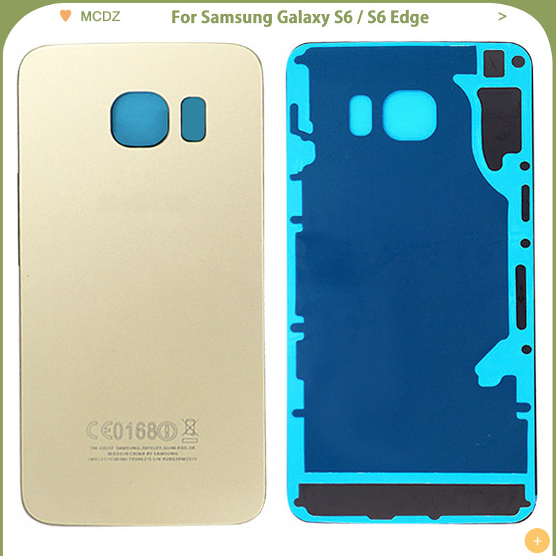 Samsung Battery-Cover Housing-Case Glass Edge-Plus S6 G920/s6-Edge Original for Galaxy title=