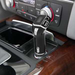 Mp3-Player Car-Charger Fm-Transmitter Car-Kit Hands-Free Wireless Call for Mobile-Phone