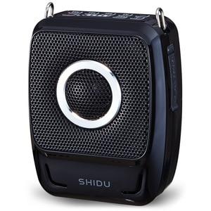 Image 2 - 新 25 ワットポータブルメガホン UHF ワイヤレス Bluetooth 音声アンプマイクベルト使用時間 20 時間 2600mAh サポート TF U ディスク USB