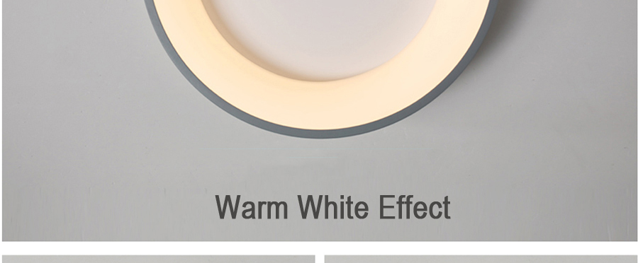 H6ed810d5fe9f4949af86ae677110dbefD Round Modern Led Ceiling Lights For Living Room Bedroom Study Room Dimmable+RC Ceiling Lamp Fixtures