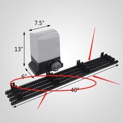 Schuifdeur motor motor opener nylon rack attachment (dit product is gewoon een rek, opmerking: twee stukken voor verkoop)