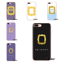 Fundas de TPU transparentes para LG Spirit Motorola Moto X4 E4 E5 G5 G5S G6 Z Z2 Z3 G2 G3 C Play Plus marco de puerta mirilla de Mini Mónica