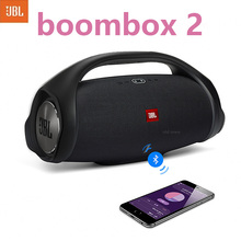 JBL Boombox 2 Portable Wireless Bluetooth Speaker IPX7 Boom Box Waterproof Loudspeaker Dynamics Music Subwoofer Outdoor Stereo