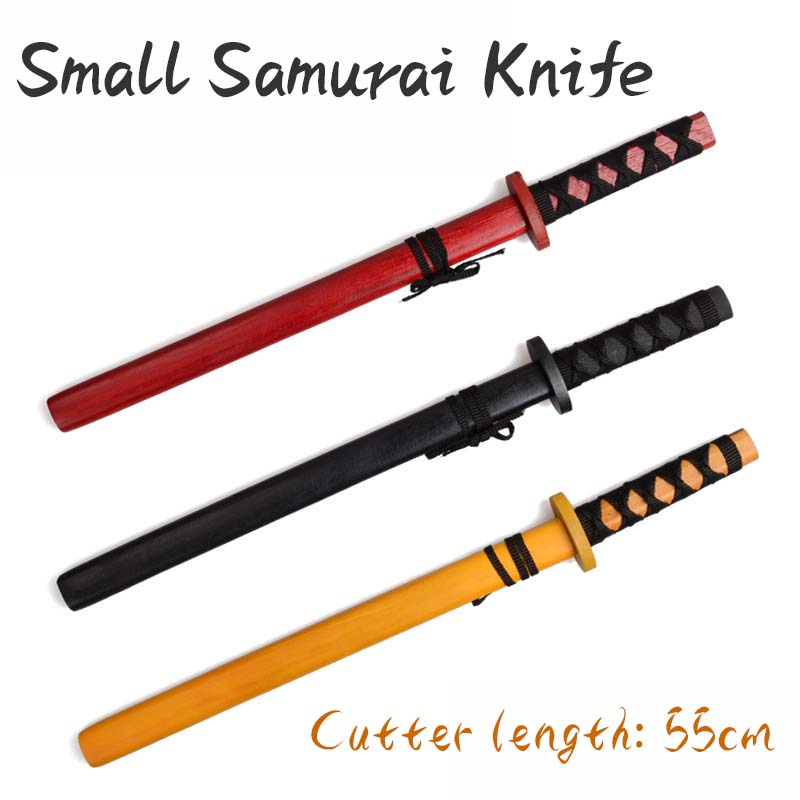 55cm Children's Wooden Sword Toys Cos Stage Prop Weapon Super Hero Weapon Model Not Cutting Edge Safety Knife Props