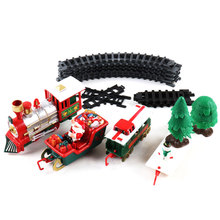 Track Small Train Toys for Children Electric Train Simulation Classic Power RC Track Train Set Holiday Christmas Gift стоимость