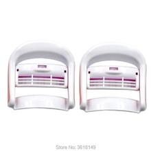 5 Pair/10Pcs DIY Eyelash Curler Clips Lash Perm Eyelash Perming Clips Eye Lash Curler for Extension Eyelashes Curler Clip M Size недорого