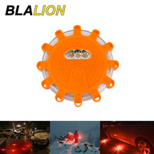 Car LED Emergency Light Auto Strobe Light Beacon Lamp Magnetic Button Control Roadside Rescue Road Safety Lamp Auto Warning Lamp
