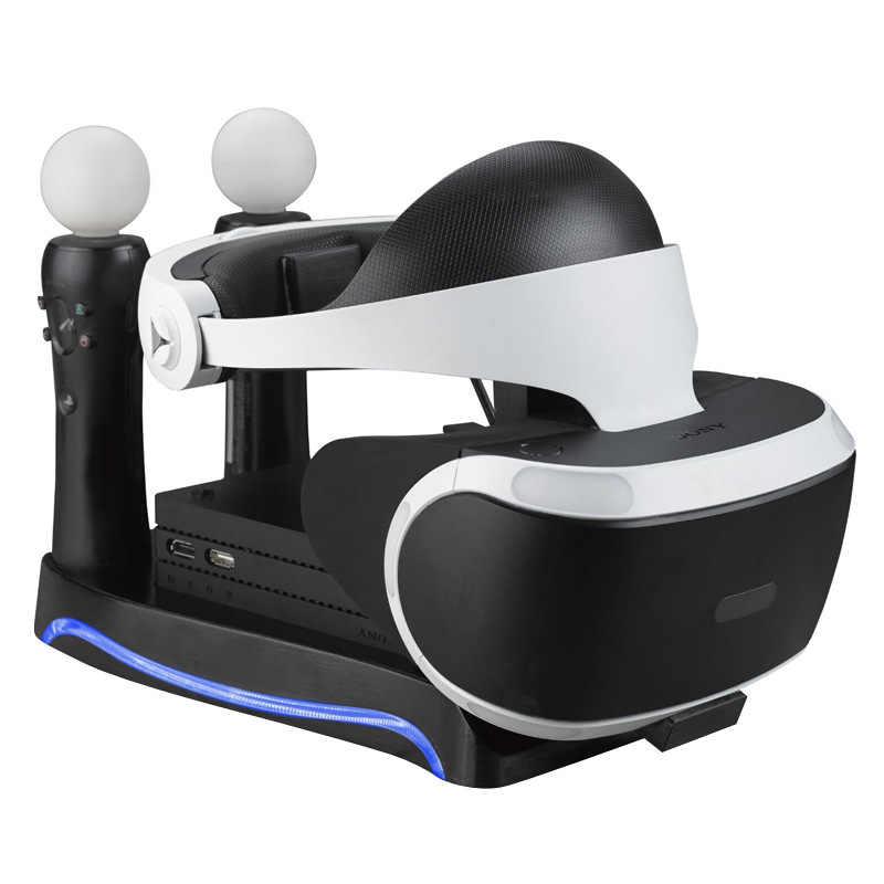 Cho PSVR Ps4 VR PS VR Tai Nghe Cuh-Zvr2 2Th Thế Hệ PS Di Chuyển Đế Sạc Đỡ Thể Hiện Lưu Trữ Đựng Phụ Kiện