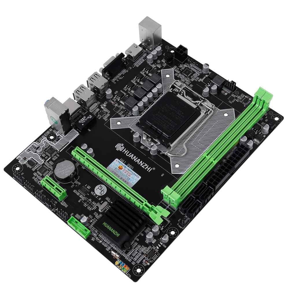 HUANANZHI H61 Pro LGA1155 anakart İndİrİm M-ATX masaüstü anakart ile VGA HDMI portu RAM DDR3 2 kanal 2 yıl garanti