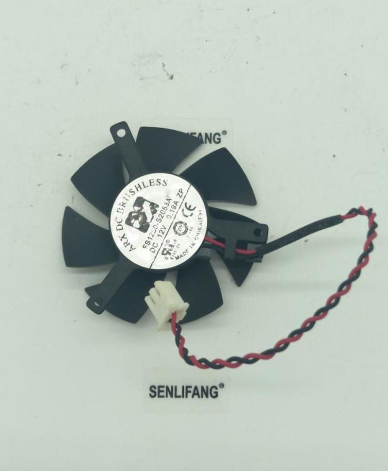 FOR Original GTX1050/1050Ti Graphics Card Fan FS1250-S2053A 12V 0.19A