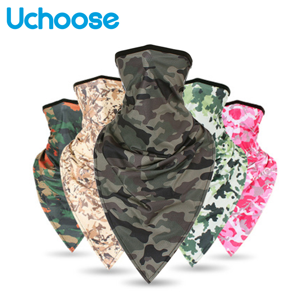 Camouflage Military Tactical Face Motorcycle Masks Cagoule Visage Moto Mask Balaclava Army Biker Headwear ScarfShield Hat