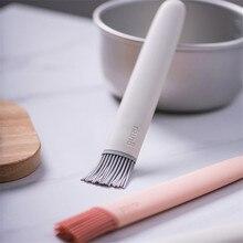 Escova de cozimento de óleo de silicone cozinha cozinhar churrasco molho assado bife panqueca pastelaria escovas ferramenta destacável bakeware