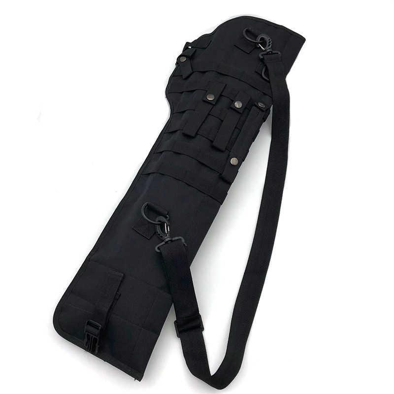 Tactical Rifle Shotgun Fodero Fondina Militare Esercito Gun Borse Assault Shotgun Fucile Pistola Lungo Della Lama di Caccia Dell'esercito Del Sacchetto Della Cassa Del Sacchetto