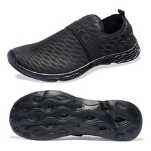 Breathable Men Casual Shoes 300g Light Walking Big Size 40-50 Outdoor Sneakers Amphibious Sole Ventilation Net