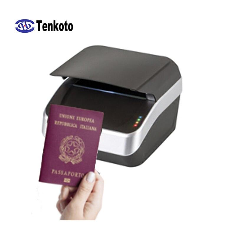Global Passport Reader ID Identification Scanner Access Control Travel Government Customs RFID Scan NFC E-passport Reader