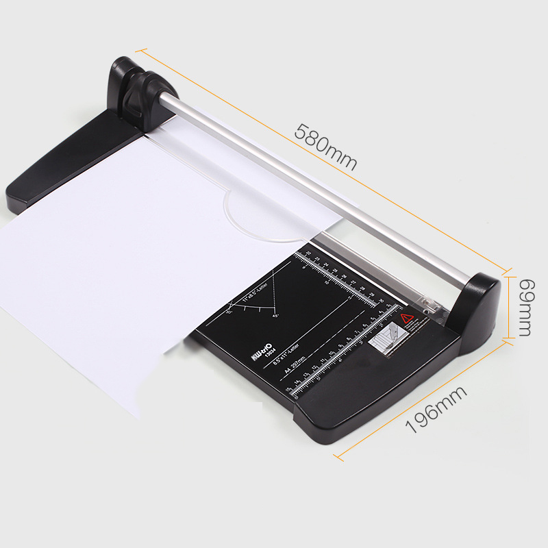 A4 A3 A2 Paper Cutter Manual Paper Cutter Paper Cutter Rolling Paper Cutter 1mm Thick About 10 Sheets Of A4 Paper Multi-material