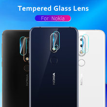 2 Packs of Camera Lens Tempered Glass For Nokia 3.1 Plus Camera Lens Film Protector for Nokia X71 8 Sirocco 7 7.1 6.1 5.1 Plus(China)