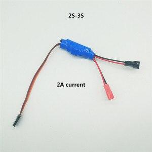 Image 3 - 1S 2S 3S マイクロ双方向ブラシ Esc スピードコントローラ 3.5 4.8V 2A 5A rc ミニタンク車ボート飛行機 130/280/370 モーター部品