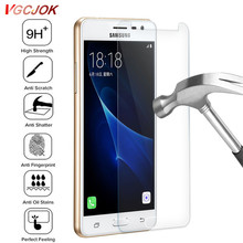Transparent Protection Glass For Samsung Galaxy A3 A5 A7 J3 J5 J7 2017 J1 2016 Version J330 J530 J730 Screen Tempered Glass Film(China)