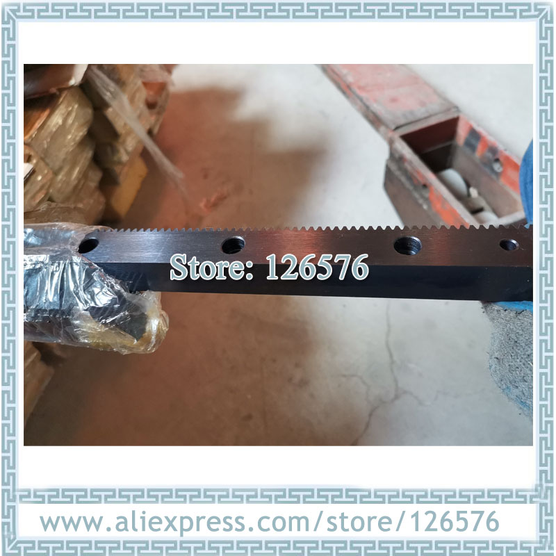 Helical Rack, Gear Rack And Pinion, Module 1.25 10pcs Left Handle Helical Rack For 1200x2400mm / 1300x2500 Working Area