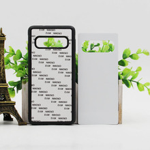 5PCS For Samsung Note 20 ultra 10 Plus 9 8 S9 S8 S21 S20 ultra S20FE S20 S10E Plus Blank Silicone TPU+PC Sublimation print Case