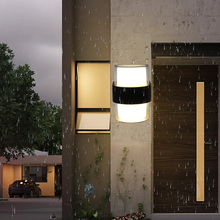 Outdoor LED Wall Light IP65 Waterproof Porch Garden Wall Lamp Balcony Decoration Lighting Lamp Courtyard Sconce ip65 outdoor led wall washer light 100cm bar lighting 15w linear lamp led arruela de parede holofote industry lamp promote