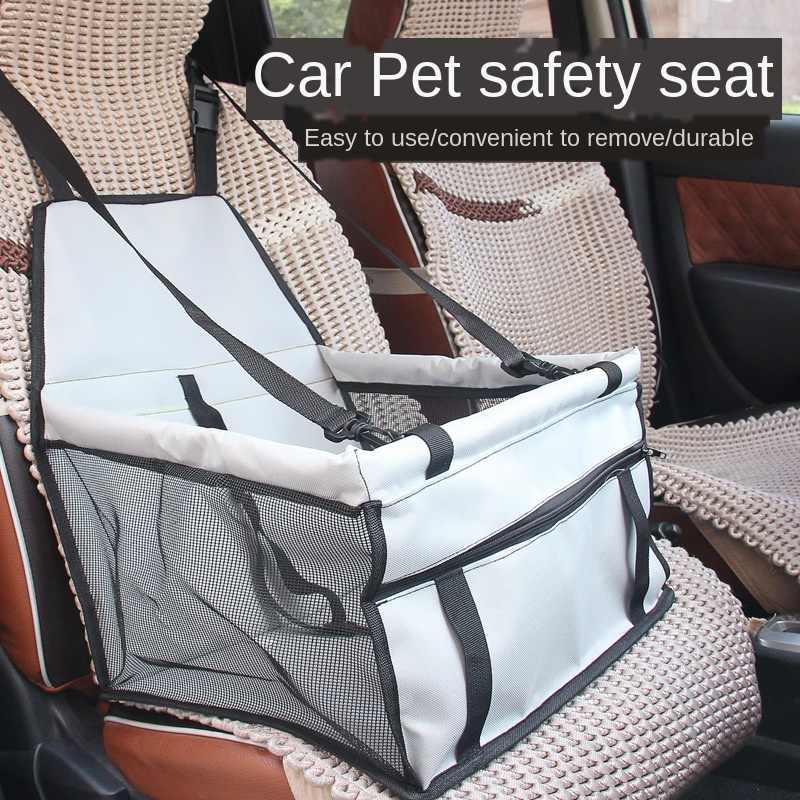 Pet Liefert Hund Mesh Auto Tasche Oxford Atmungs Sicherheit Sitz Pet Auto Kissen